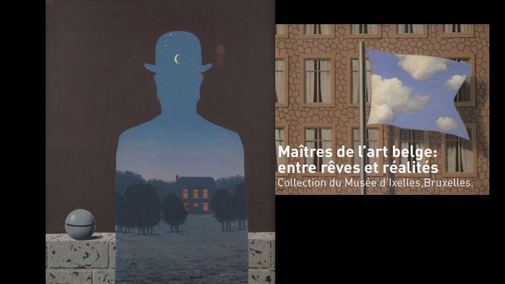 BIARRITZ, MAÎTRES DE L'ART BELGE : ENTRE RÊVES ET RÉALITÉS