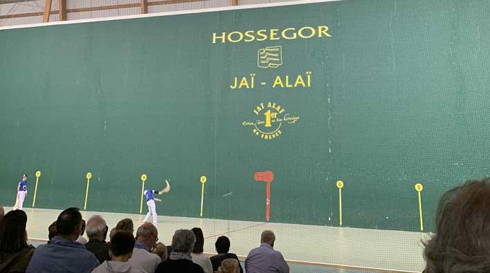 Stages de Pelote Basque au Jaï-Alaï d'Hossegor
