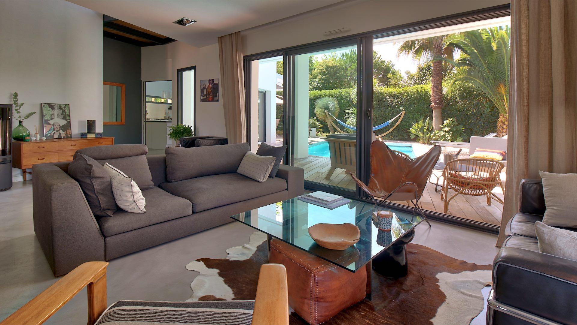 Gu thary location maison avec piscine plage pied - Location maison sud ouest piscine ...